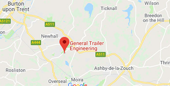 General Trailer Engineering are located in Swadlincote